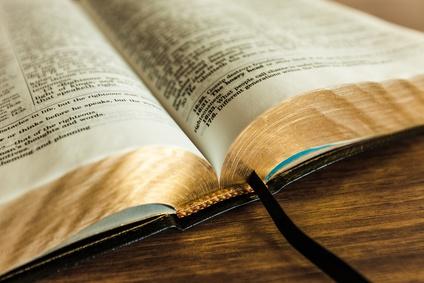 Bible, Praying, Open.